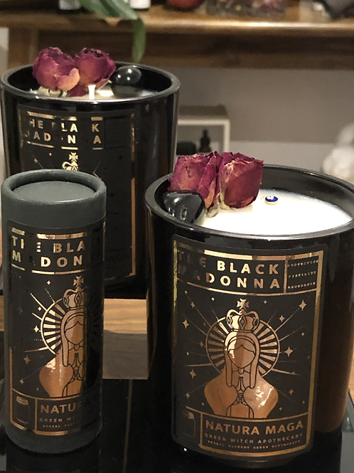 The Black Madonna Spell Candle