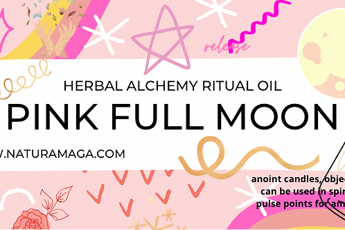 Limited Edition Pink Full Moon - Ritual Oil