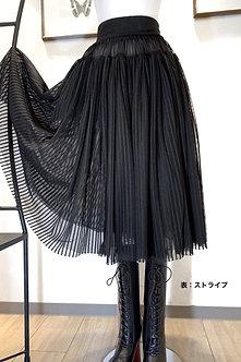 scリバーシブルスカート/ストライプ (20ss-014)