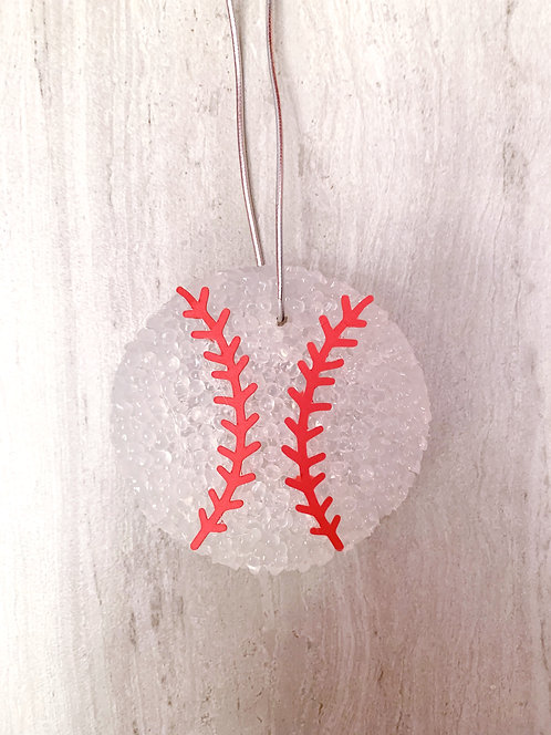 Baseball or Softball Aroma Bead Air Freshener