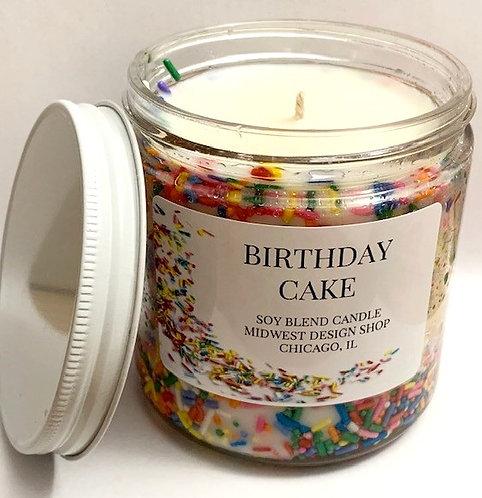 Sprinkles Candle - Large 16oz Jar