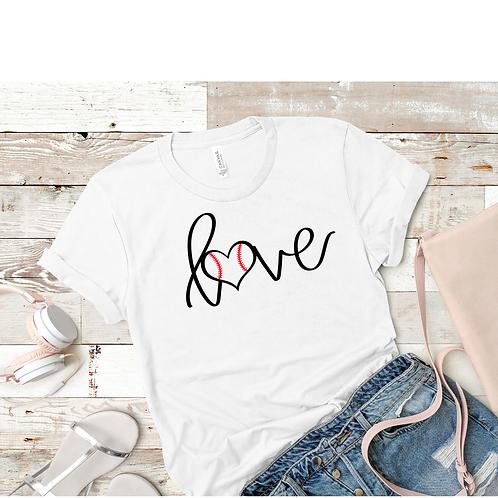 Baseball Love T-Shirt