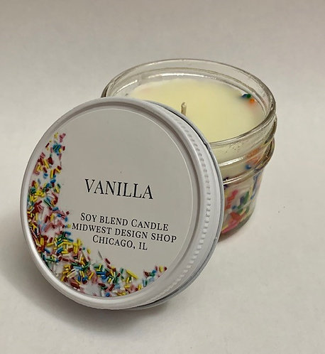 Sprinkles Candle - Small 4oz Jar
