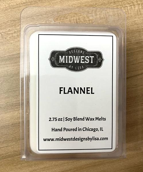 Flannel  Wax Melts