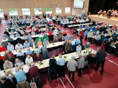 Aargauer Turnveteranen tagten – Untersiggenthaler Ehrungen