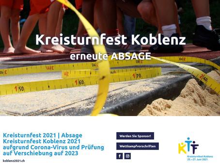 Kreisturnfest Koblenz abgesagt