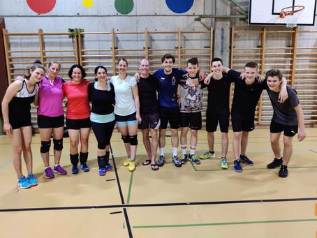 Testspiel unserer Volleyballteams