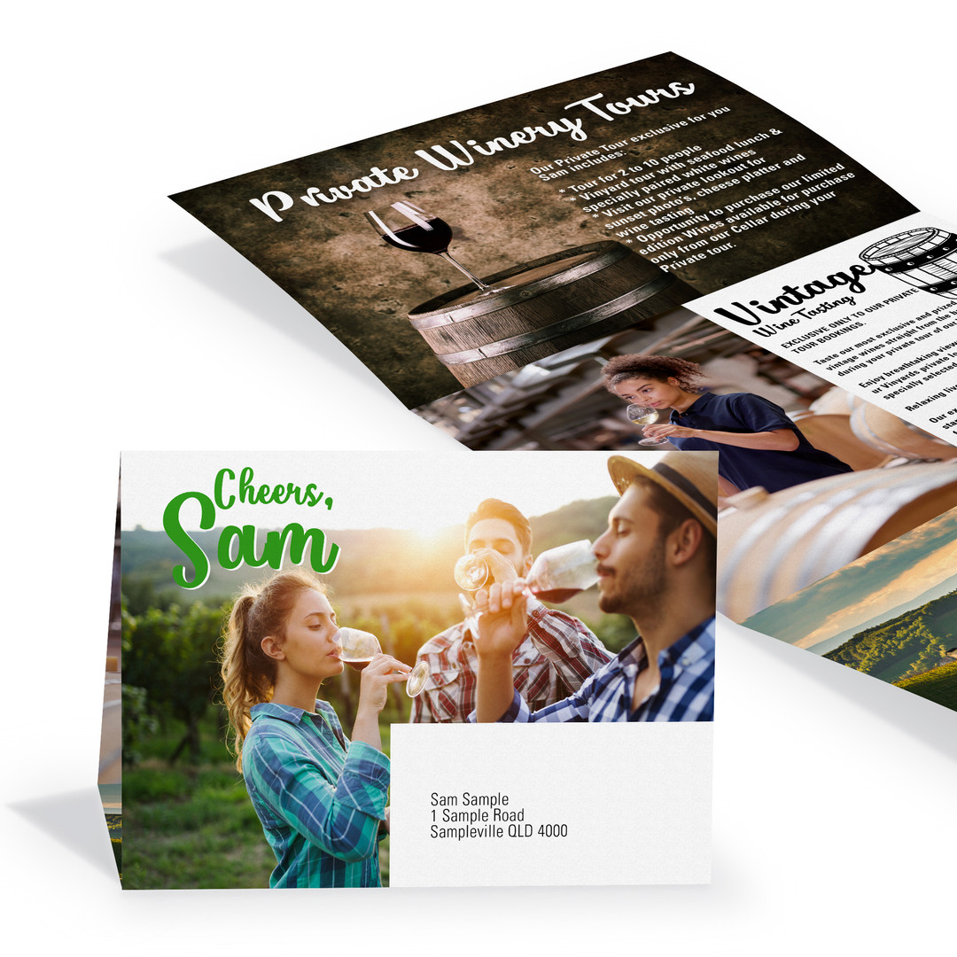 Letterbox Marketing & Custom One Piece Mailers