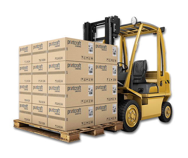 Printcraft offer dedicated storage and logistics to support their commercial printing and mail services