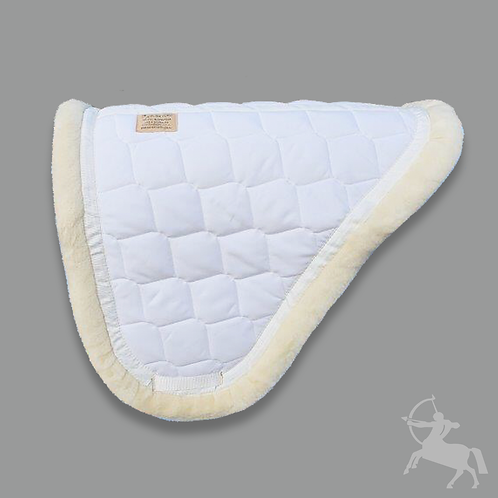 Concord Saddle Pad - White