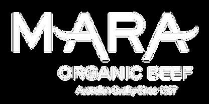 Mara Organic Beef Logo WHITE PNG.png
