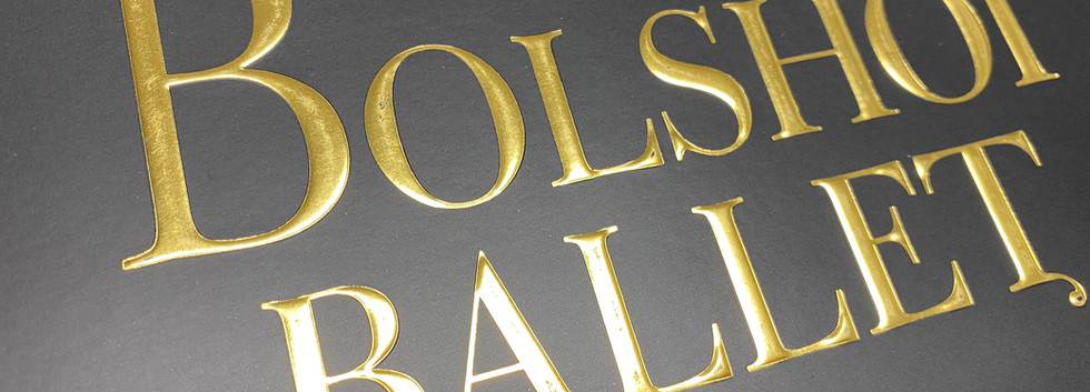 Gold Emboss Specialty Print Finish