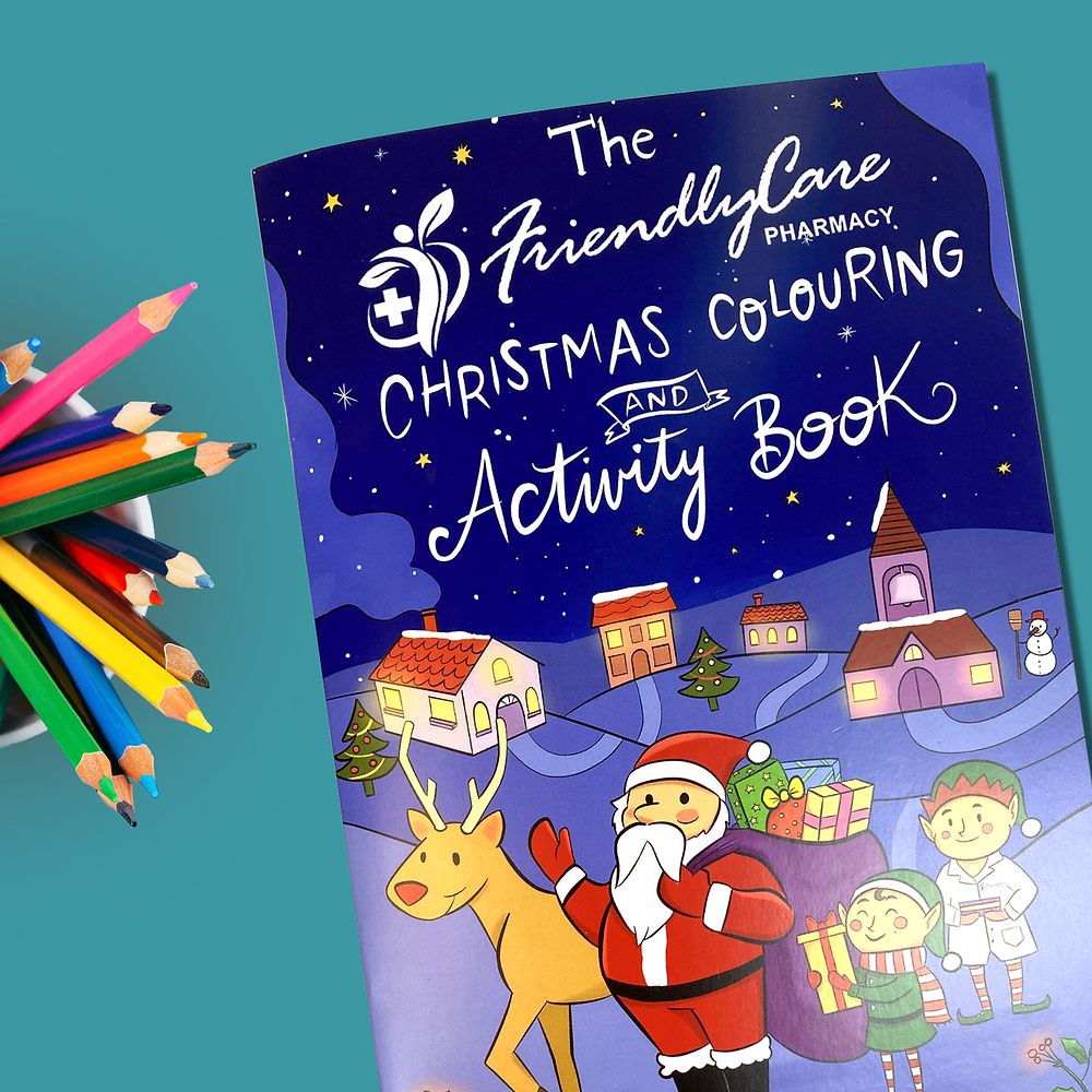 The Friendly Care Pharmacy Activity Book