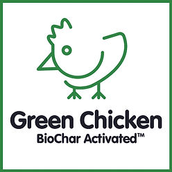Green Chicken Organic Feed with BioChar