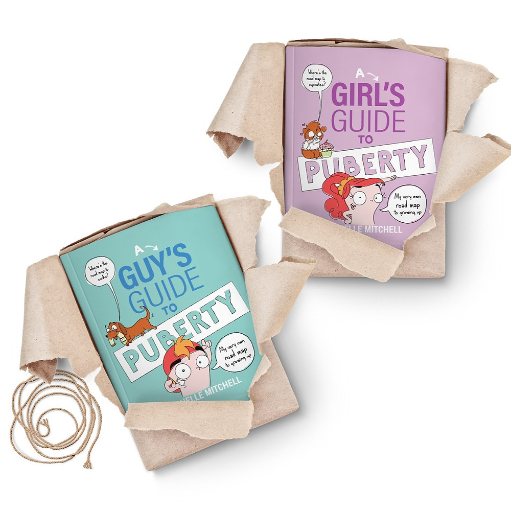 Girls and Guys Guides to Puberty by Michell Mitchell