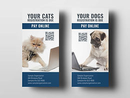 Example of Direct Mail Campaign using variable data and images