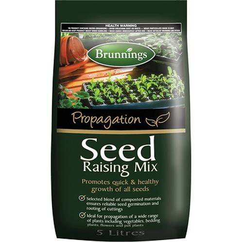 Brunnings Seed Raising Mix 5ltr