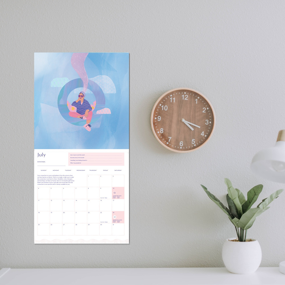 2021 Dreamscapes Calendar by The Darling Tree