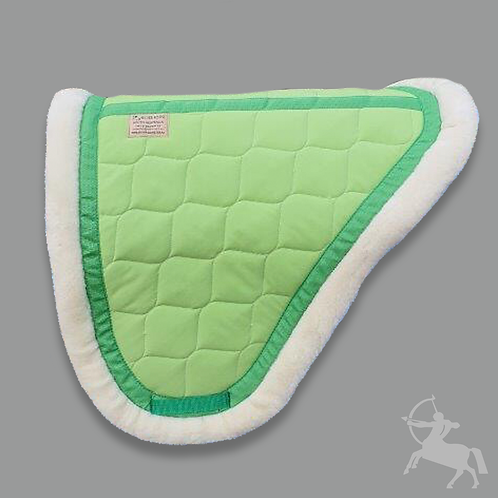 Concord Saddle Pad - Lime Green