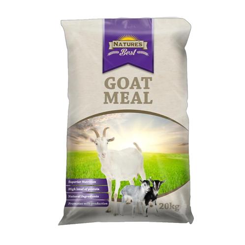 Nature's Best - Goat Meal 20kg