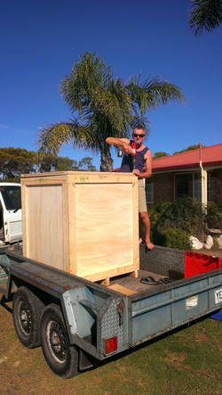 Sealing the export box