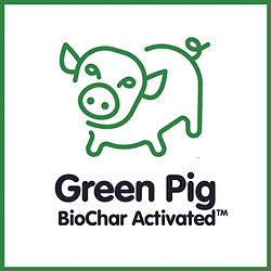 Green Pig Organic Feed with BioChar