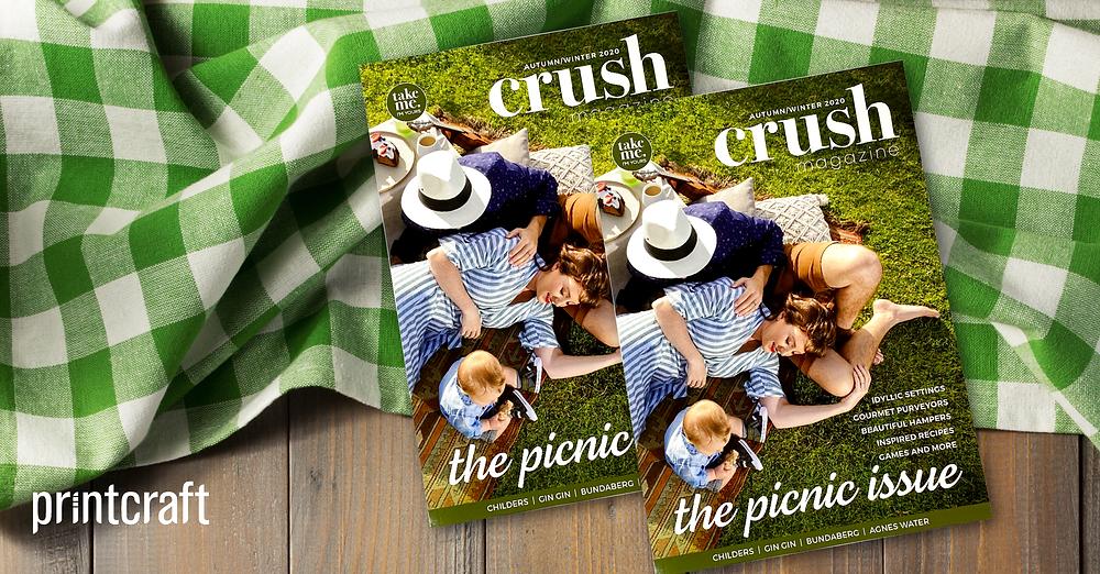 Crush Magazine Proudly Printed in Australia By Printcraft