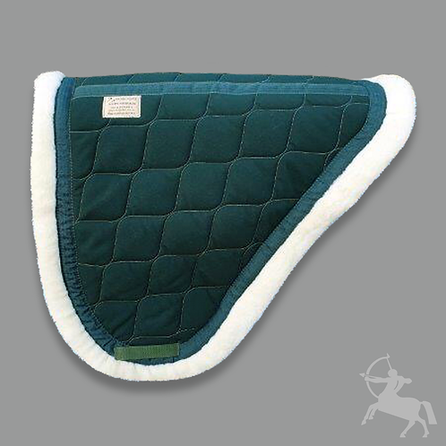 Concord Saddle Pad - Bottle Green