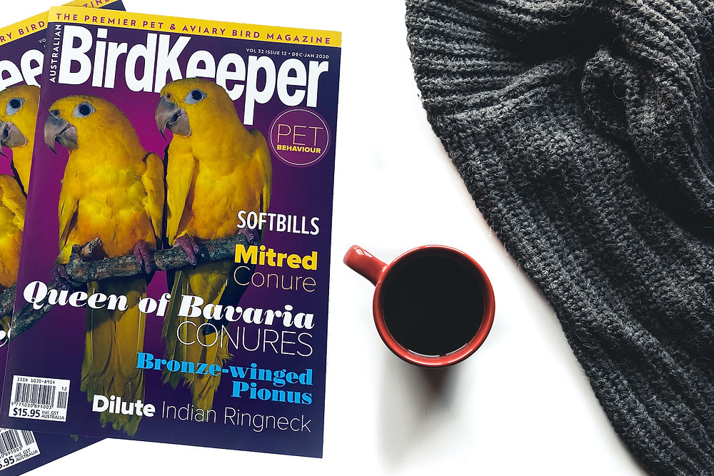 Magazine Cover Design Tips | Print Magazine Design | Australian Birdkeeper Magazine Proudly Printed in Australia by Printcraft