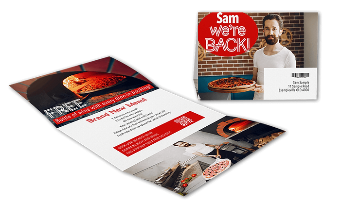 One Piece Mailer or Custom Mailers available through Printcrafts Commercial Printing Facility
