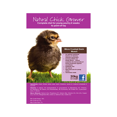 Seedhouse - Natural Chick Grower