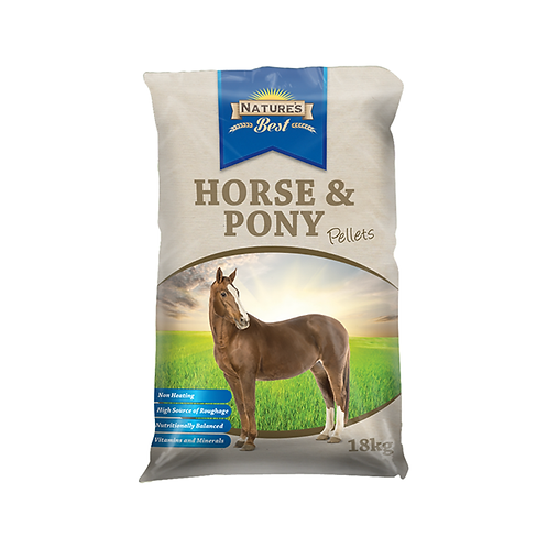 Natures Best Horse and Pony Pellets
