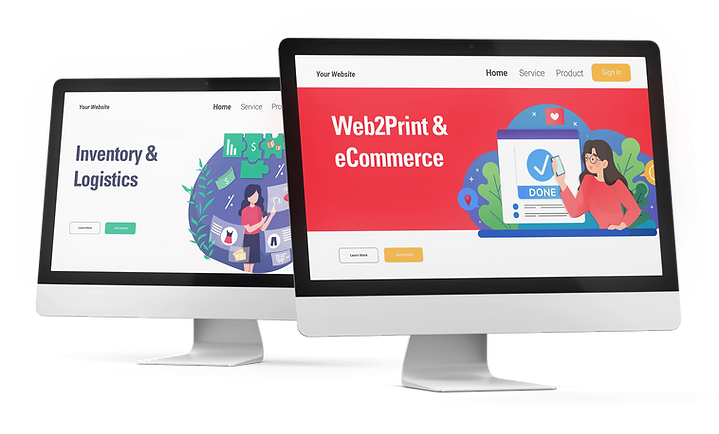 Printcrafts custom build web2print, inventory and logistics software solutions support our commercial print clients needs.