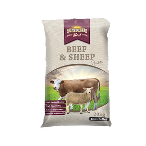 Natures Best Beef & Sheep Pellet