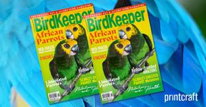 Australian Birdkeeper Magazine Proudly Printed in Australia By Printcraft