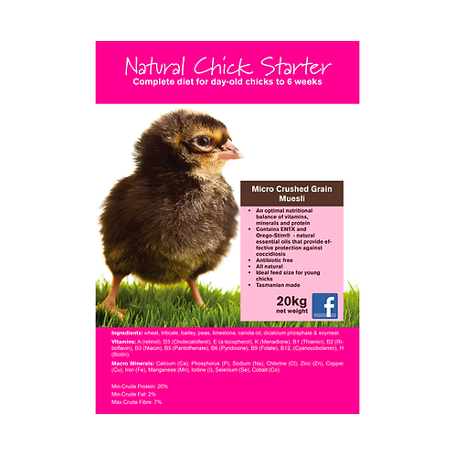 Seedhouse -Natural Chick Starter
