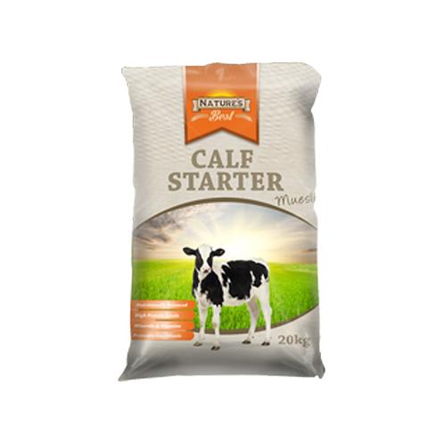 Natures Best Calf Grower Muesli 20kg
