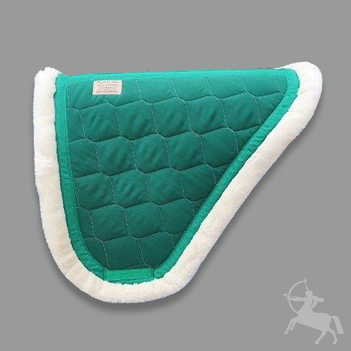 Concord Saddle Pad - Emerald Green