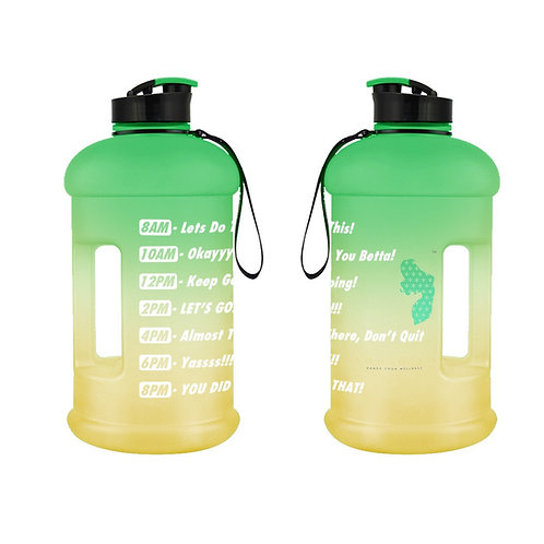 Water Jugs with Motivating Time Markers