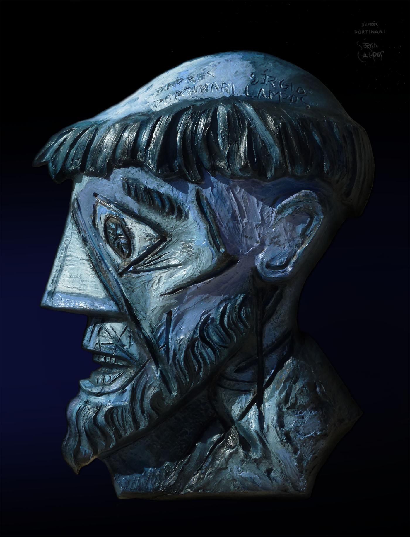"""""""Cabeça de São Francisco III"""""""