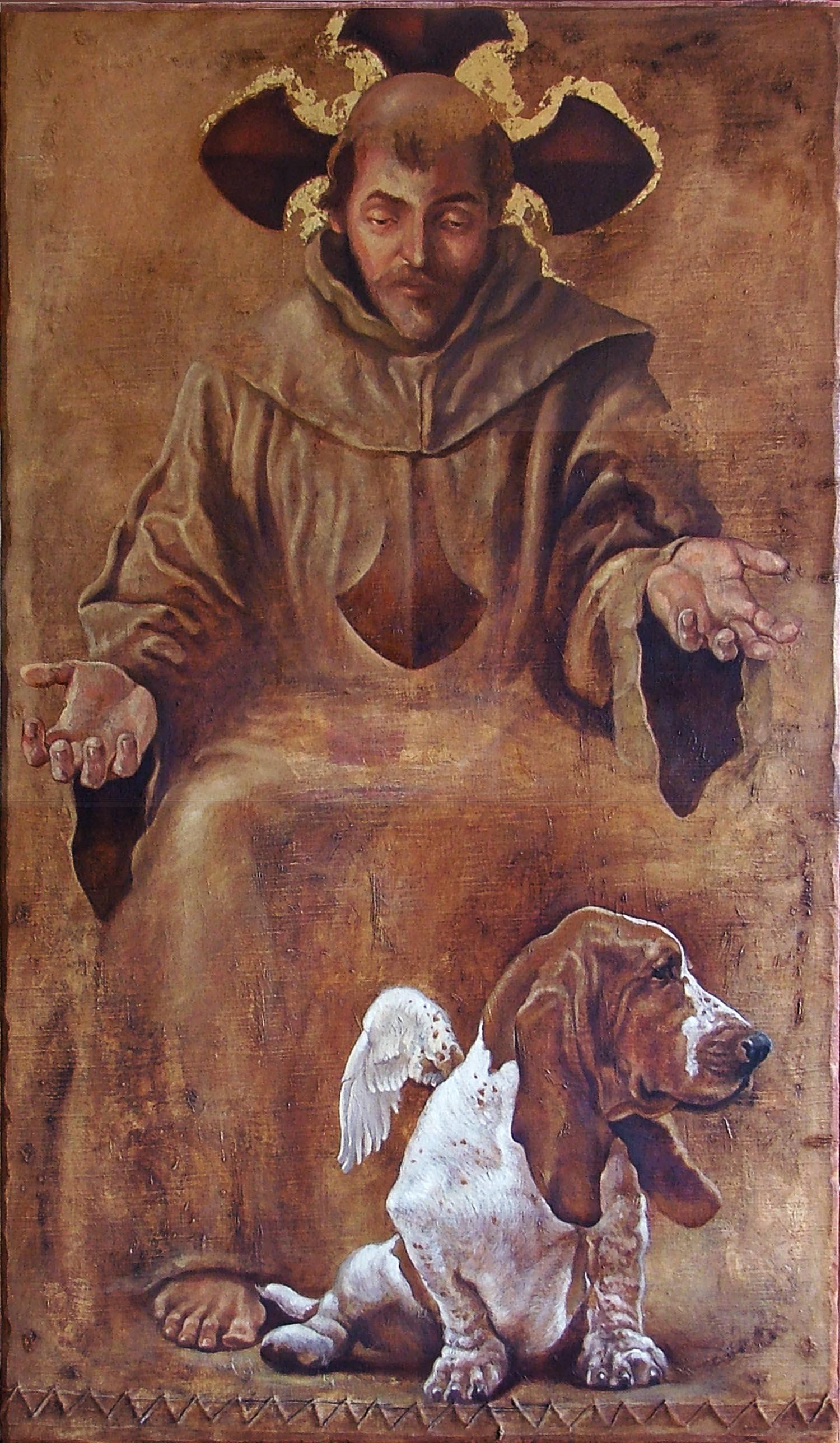 """""""Francisco e São Bartholomeo"""""""
