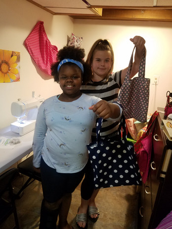 Small tote bag sewing workshop