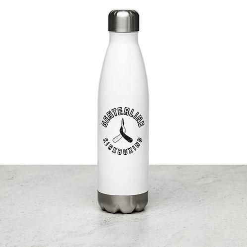 Stainless Steel Water Bottle - Kickboxing