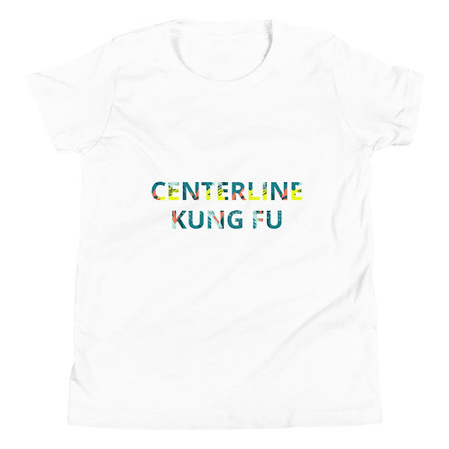 Youth Kung Fu T-shirt - Graphic Text