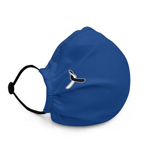 Premium face mask - Blue Basic