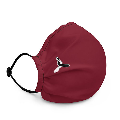 Premium face mask - Red Basic