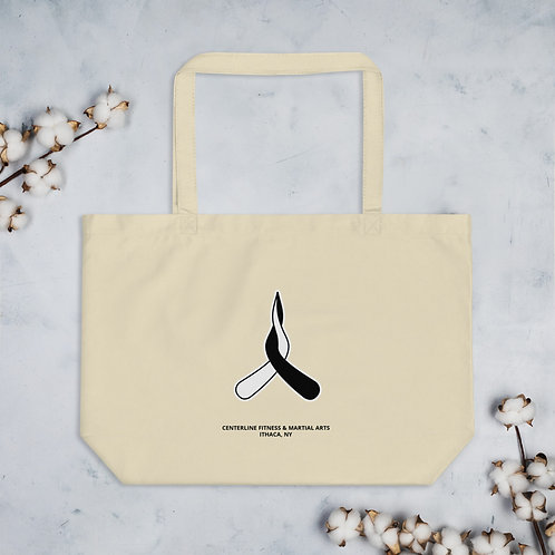 Large organic tote - Large Natural