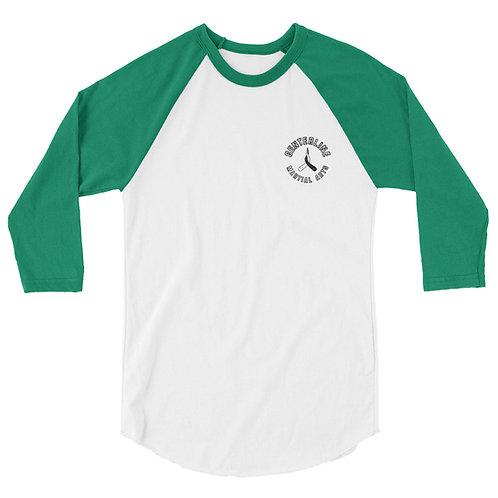 3/4 sleeve raglan shirt - Martial Arts