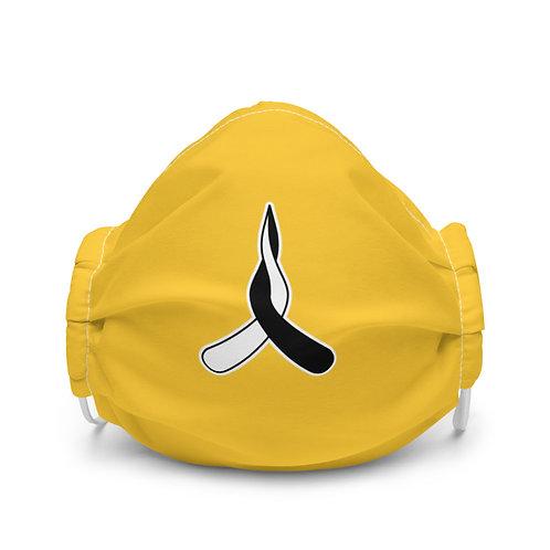 Premium face mask - Yellow
