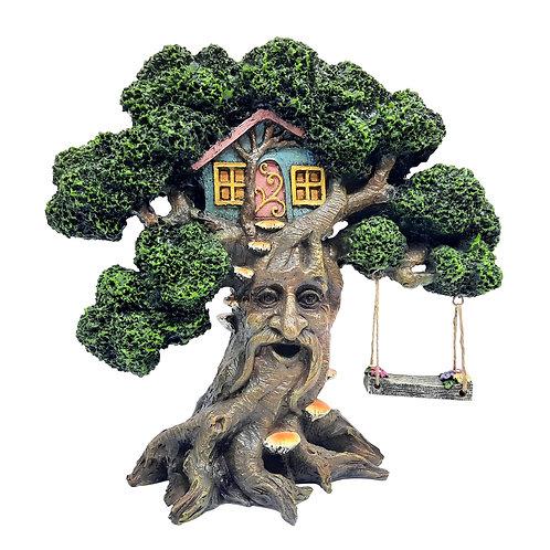 Wisdom tree with swing